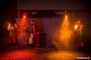 christmas fireshow